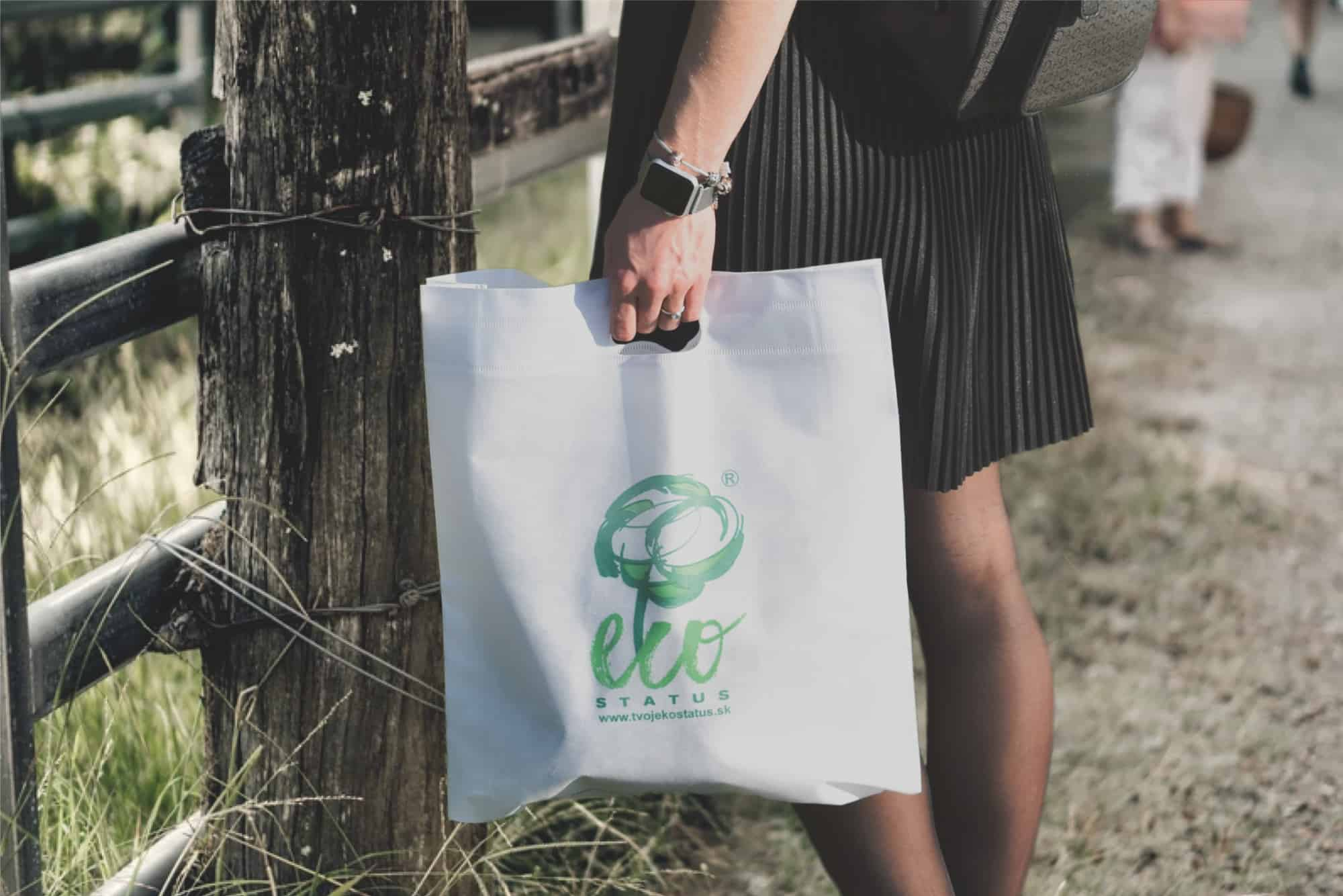 Nakupujme s eko taškami na opakované použitie